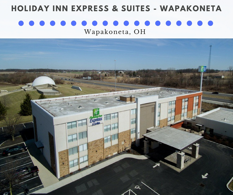Professional Hotel Photography for Holiday Inn Express and Suites – Wapakoneta, OH