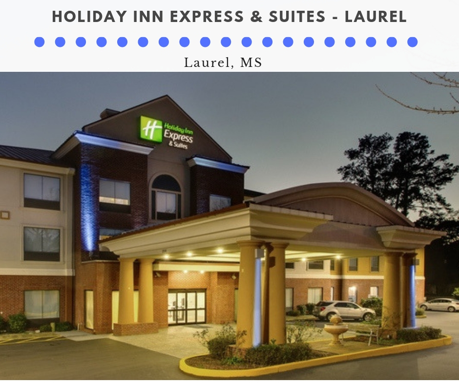 Professional Hotel Photography for Holiday Inn Express – Laurel