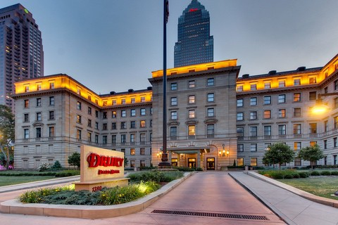 Hotel Photography for Drury Hotel Downtown Cleveland Exterior 14
